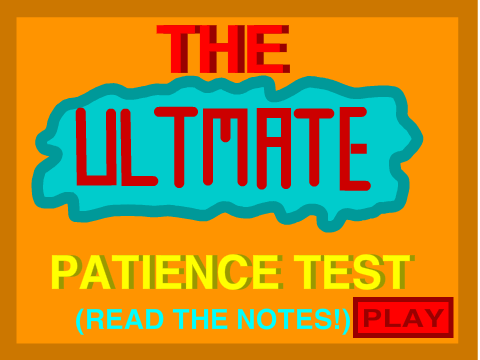 patience test