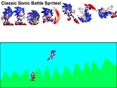 Sonic Exe Sprites (Incomplete Pack) on Scratch