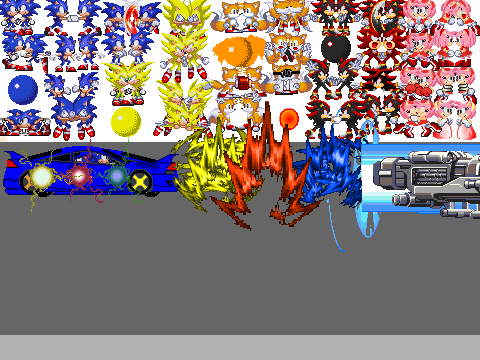Sonic Scene Creator Games On Scratch sonic generations scene