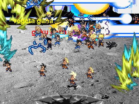 goku vs vegeta batalla final en la luna on Scratch
