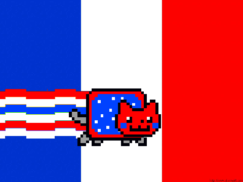 French Nyan Cat Gif Png