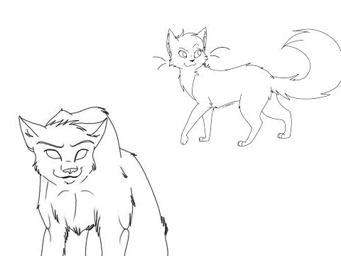 warrior cats coloring pages starclan - photo#3