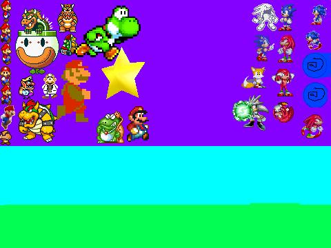 Mario exe vs sonic exe scene creator version 3 5 on scratch