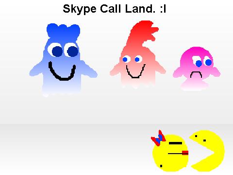 skype 头像 矢量图