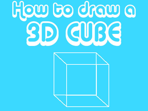 how to draw a 3d cube in matlab