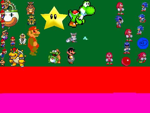 Mario exe vs sonic exe scene creator version 3 5 remix on scratch