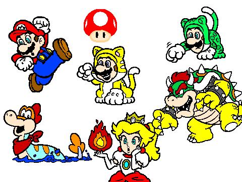 Mario cat suit on Scratch