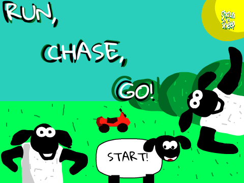 Shaun the Sheep: Run, Chase Go! by Skelekey