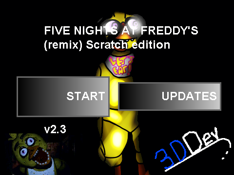 5 nights at freddys 2 on scratch remix