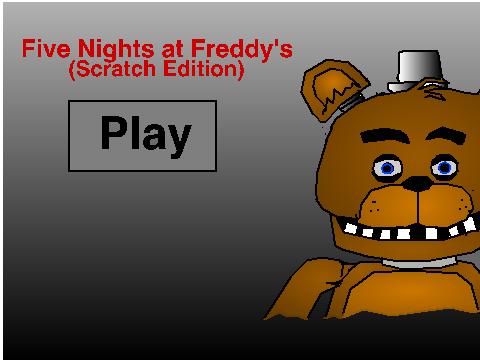 Five nights at freddy s scratch edition v0 2 on scratch