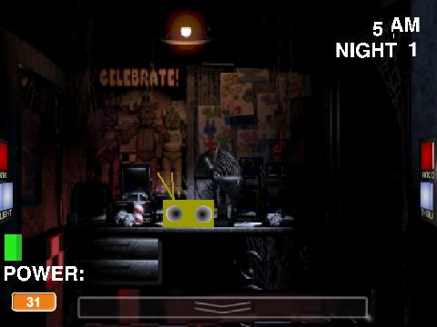 Freddy s at five nights scratch