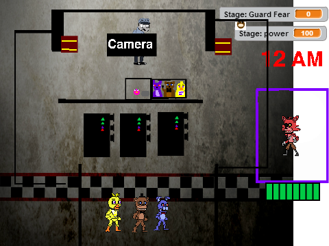 Based on fnaf multiplayer now with hd sprites by nightsdion