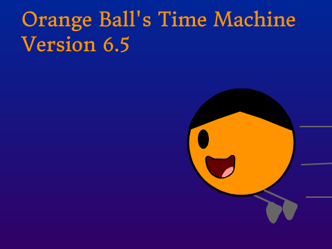 time machine orange