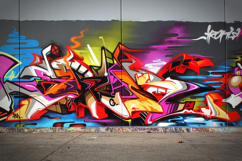 Как сделать граффити с фото онлайн