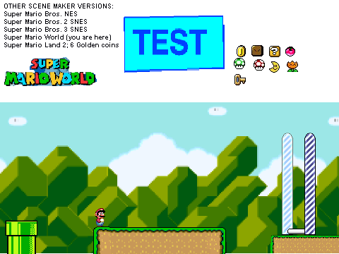on: Super Mario Level Scene Creator based on Super Mario Scene Creator ...
