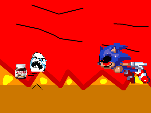 Based on roblox sonic exe steals nutella by luqmanulhakim