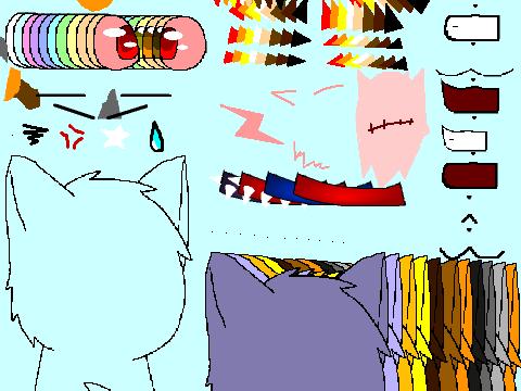 Original project warrior cat creator v4 by rainstalker41