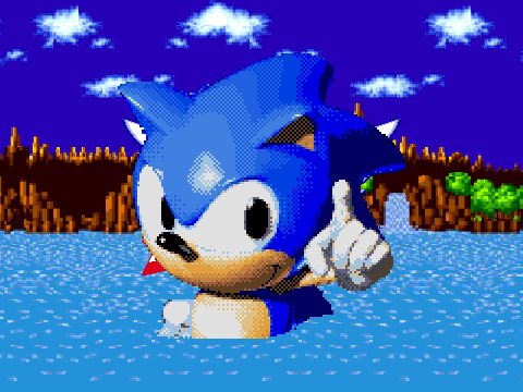 Sonic Exe Title Screen On Scratch