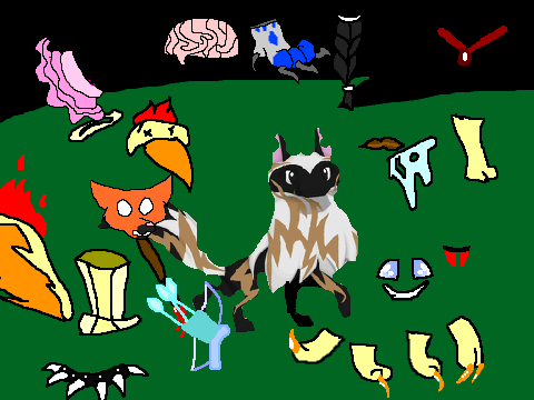 Animal Jam Characters Drawings Animal Jam by Dappleclaw33