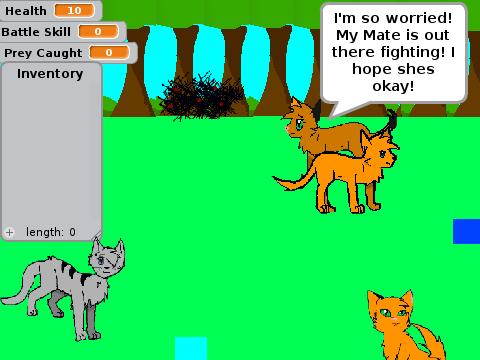 Warrior Cat Rpg Site