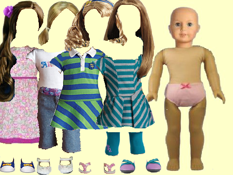 Dress Up A American Girl Doll