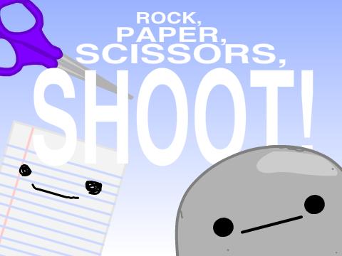 rock paper scissors shoot
