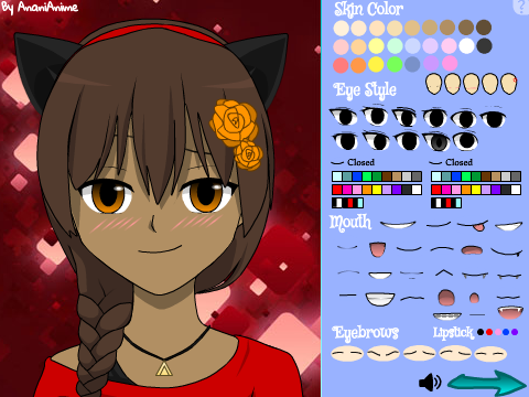 Anime oc maker game