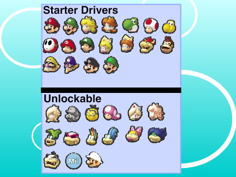 mario kart ds instructions
