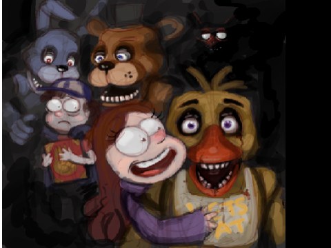 Pin original project five nights at pico s 2 by danvin on pinterest