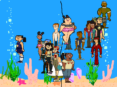 Total Drama All Seasons Based on Season 6 Total Drama