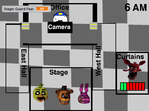 Fnaf play as the animatronics wip remix remix on scratch