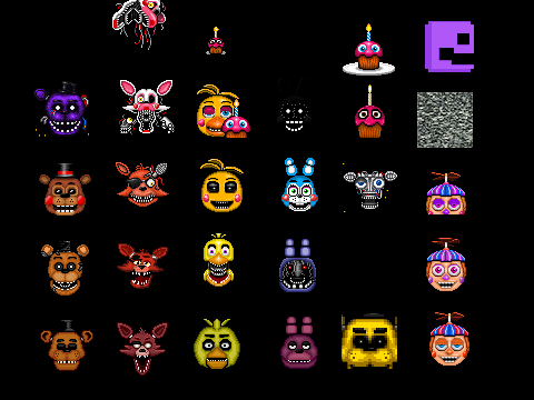 Fnaf 4 halloween update on scratch