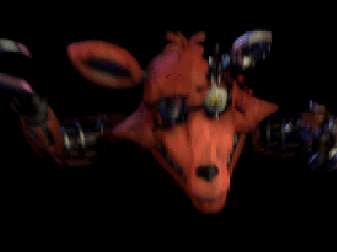 Original project five nights at freddy s 2 foxy jumpscare by