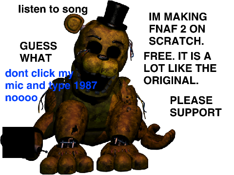 Project fnaf 2 five night s at freddy s 2 game demo by m o a b