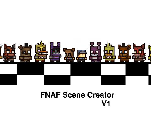 Fnaf2 scene creator on scratch