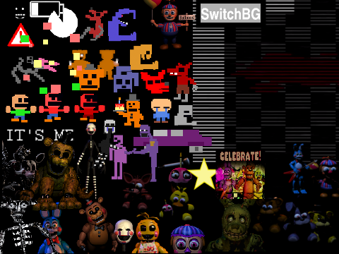 Top Five Five Nights At Freddy's 3 Remix On Scratch - Circus
