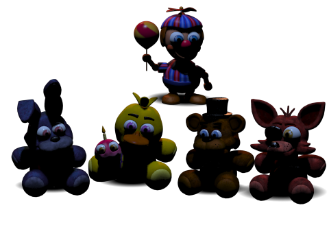 Original project help me do a fnaf plushies by robloxhibou
