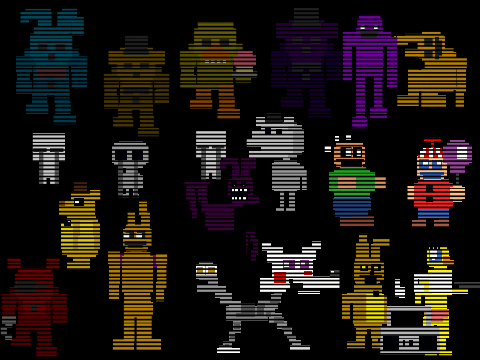 Fnaf 3 minigame dance party remix 2 on scratch