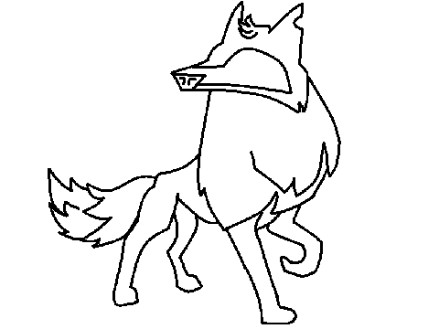 Animal jam arctic wolf coloring pages sketch coloring page for Animal jam arctic wolf coloring pages