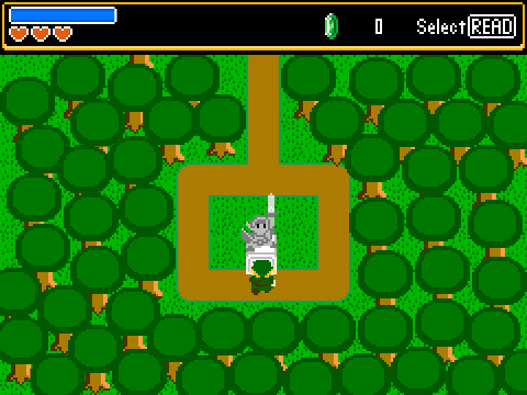 Scratch's First Real Zelda Game: The Legend of Zelda