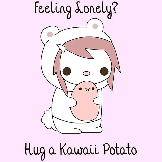 Resultado de imagem para foto do im am kawaii potato